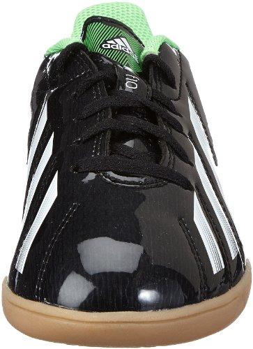 Adidas performance f10 g65333 iN j chaussures de football pour garçon Noir - Noir (BLACK 1 / RUNNING WHITE FTW / GREEN ZEST S13)