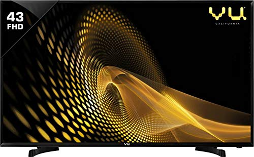 VU 108 cm  43 Inches  Full HD Smart LED TV 43PL  Black   2019 Model  Smart Televisions