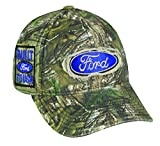 Realtree 6 Panel Ford Logo Cap, Camo
