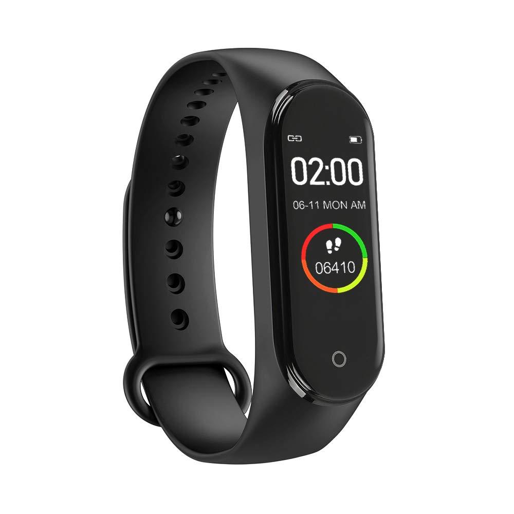 Nueva Pulsera Inteligente M4 con Pantalla a Color IPS, Reloj de Actividad a Prueba de Agua con Monitor de Ritmo cardíaco… 1