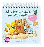 Was kitzelt dich am Näschen?: Reime, Kitzel- & Fingerspiele für junge Eltern - Julia Hilgeroth-Buchner, Birgit Hörner
