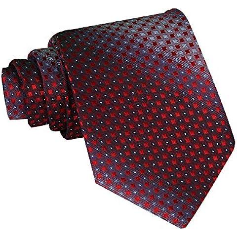 Clásico de la Raya Medio Lazo 36 Diferentes Patrones Profesional Corbata de los Hombres