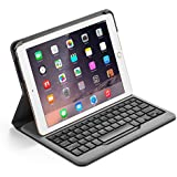 Anker Bluetooth Folio Keyboard Case for iPad Air 2 - Smart Case with Auto Sleep / Wake, Comfortable Keys and 6-Month Battery Life Between Charges
