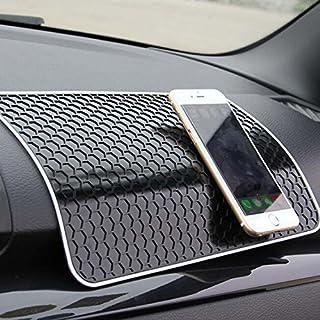 Ancdream Anti-Rutsch-Pad / Mat Magic Stick für die Befestigung Auto Kleine Zubehör / Handy / Dekorative Stuff Größe 28 x 17 cm - Schwarzes Cellular Design