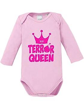 EZYshirt® Terror Queen Baby Body Longsleeve