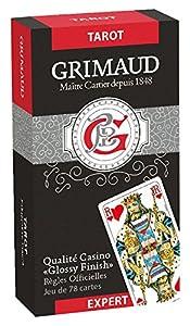Grimaud-Expert-Tarot 78Juego de Tarjetas, 184849