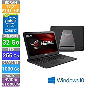Asus ROG PC Portable Gamer G751JY-T7378T