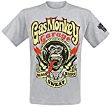 Gas Monkey Garage Sparkplugs T-Shirt grau