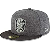 New Era 59Fifty Cap - Black Sideline Kansas City Chiefs