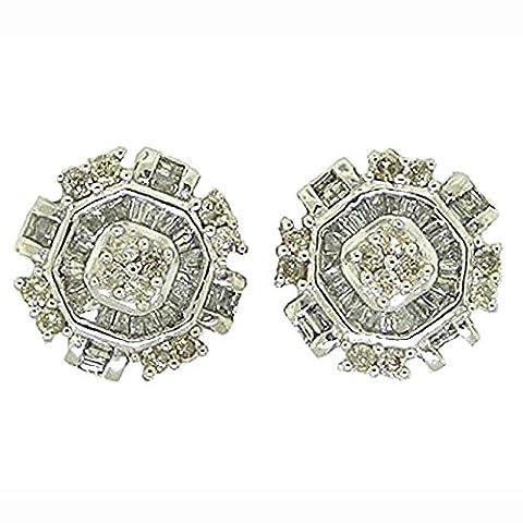 Damen Ring / Verlobungsring Diamant 0.25Karat-DIA MICRO-PAVE Herz RING