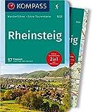 KOMPASS Wanderführer Rheinsteig: Wanderführer mit Extra-Tourenkarte 1:50.000, 17 Etappen, GPX-Daten zum Download: Wandelgids met overzichtskaart