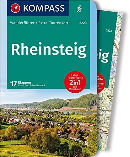 KOMPASS Wanderfuhrer Rheinsteig Mit Extra Tourenkarte 150000 17 Etappen GPX Daten Zum Download