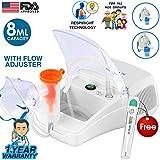 Dr Trust Bestest Plus Compressor Nebulizer Machine Kit (White)