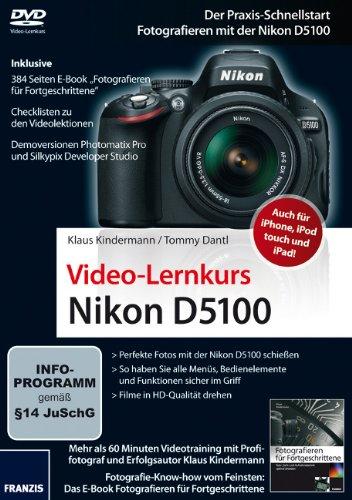 Preisvergleich Produktbild Video-Lernkurs Nikon D5100 (PC+MAC)