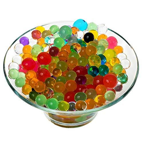 ben Wasserperlen Wassereinschuss Balls 2.5mm 3mm Jelly Perlen Original Wasser Gel Beads ()