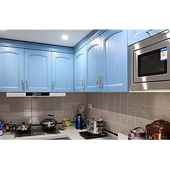 kinlo m pvc k chenschrank aufkleber selbstklebend k chenfolie klebefolie. Black Bedroom Furniture Sets. Home Design Ideas