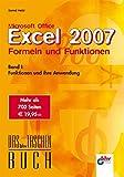 Microsoft Office Excel 2007 Formeln und Funktionen 1: Funktionen und ihre Anwendung