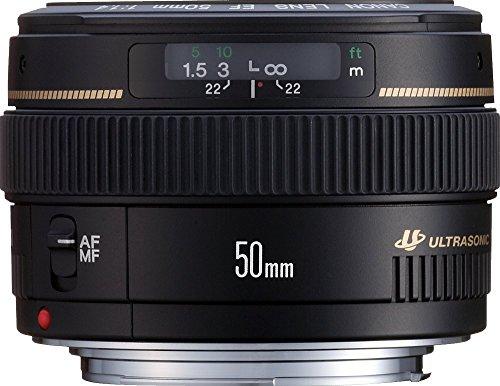 Bild 6: Canon Objektiv EF 50mm F1.4 USM Lens für EOS (Festbrennweite, 58mm Filtergewinde, AF-Motor) schwarz