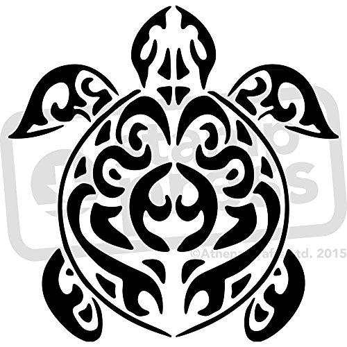 Stamp Press A4 'Schildkröte' Wandschablone / Vorlage (WS00010090) -