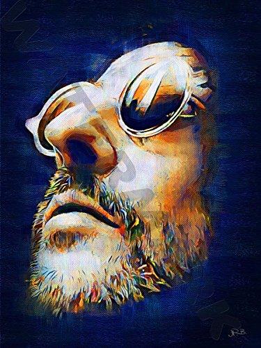 Posters-Galore Jean Reno French Cinema Leon Art Print Poster