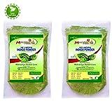 #10: Indigo Powder For Hair | Herbal Hair Color Combo | 100% Pure Neel Powder Pack of 2 X 227 g by Malvaniya Herbal Care