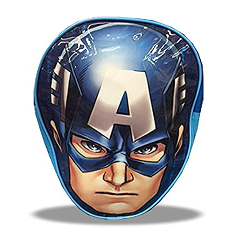 Marvel Avengers Captain America Head Junior Backpack