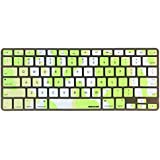 iBenzer - Macaron Serie Camouflage Green Keyboard Cover Silicone Rubber Skin for Macbook Pro 13'' 15'' 17'' (with or without Retina Display) Macbook Air 13'' and iMac - Camouflage Green MKC02CGN
