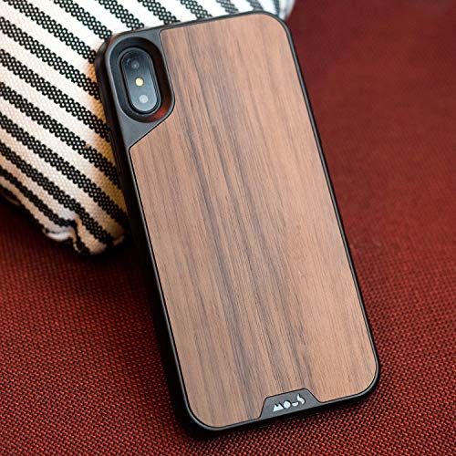 best cheap 1b8a1 45937 Mous Protective iPhone X Case Real Walnut Wood - Limitless 2.0 ...