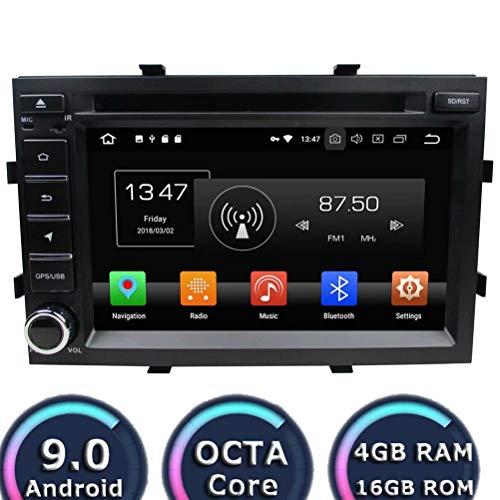 ROADYAKO Android 8.1 Auto Medai pour Chevrolet Cobalt/Spin/Onix 2012 2013 2013 2013 2015 2016 Autoradio Navigation GPS Stéréo 3G Lien WiFi Lien Miroir RDS FM AM Bluetooth