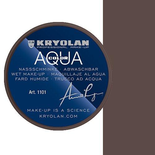 Kryolan Aquacolor Bodypainting Farben Kinderschminke 30 ml Farbe dark brown 101
