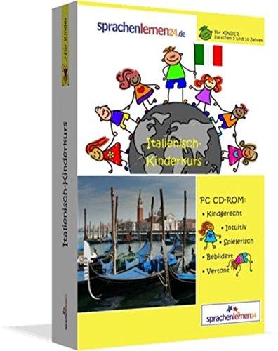Italienisch-Kindersprachkurs von Sprachenlernen24: Kindgerecht bebildert und vertont für ein spielerisches Italienischlernen. Ab 5 Jahren. PC CD-ROM für Windows 10,8,7,Vista,XP / Linux / Mac OS X