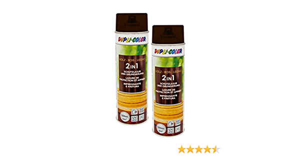2x Dupli Color Holzschutzlasur Wasserabweisend Allwetterschutz Palisander Auto