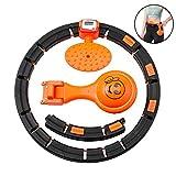 B&H-ERX Hula Hoop, Fitness per Massaggi Pneumatici Hula Hoop Dimensione Regolabile Non Lascerà Cadere Hula Hoop, Conteggio Intelligente E Perdita di Peso Automatica Hula Hoop