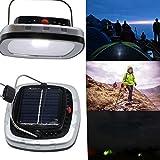 Gute Qualität , 6W USB-bewegliches Solarleistungs-LED Birnen-Lampen-Sonnenkollektor-anwendbares im Freienbeleuchtung-Lager-Zelt-Fischen-Lampen-Garten-Licht-im Freienlicht 1PCS Fit Haus & Küche ( Farbe : Silber )