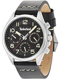 Timberland Quartz - TBL.94840AEU/02 - Montre - Affichage - Analogique - Homme - Bracelet - Cuir - Noir et Cadran Noir