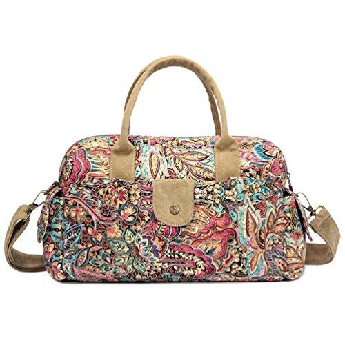 Chang Spent nuova borsa tracolla borsa di tela tote Messenger bag delle donne (colore facoltativo) , d a