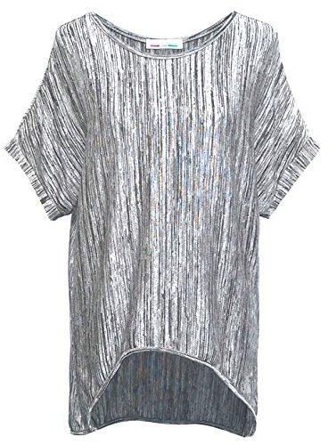 Emma & Giovanni - T-shirt Manche Courte - Femme Gris