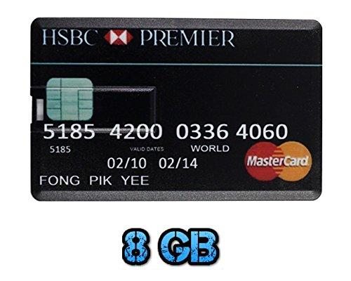 royaume-uni-a2z-r-hsbc-mastercard-8-go-carte-de-credit-style-usb-flash-drive-memory-stick