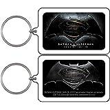 Batman vs Superman Dawn of Justice Logo - DC Comics - Lucite High Quality KEYCHAIN LLAVERO