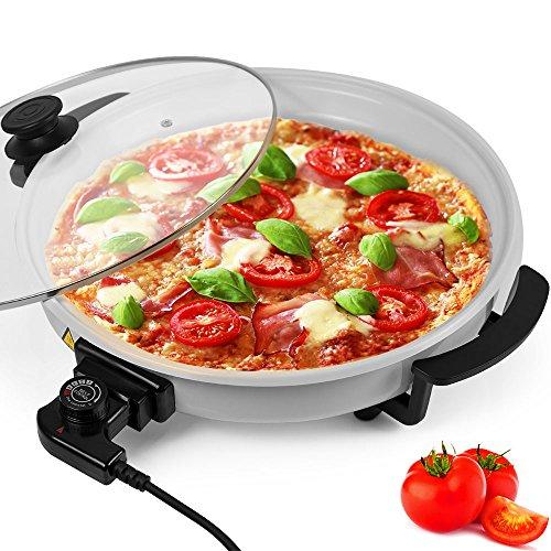 ELEKTRISCHE PFANNE Pizzapfanne Pizza Paella Multi Party Brat