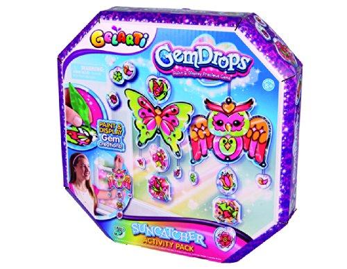 Drop Das Mädchen (Gelarti Gem Drops Sun Catcher Activity Packung [UK Import])