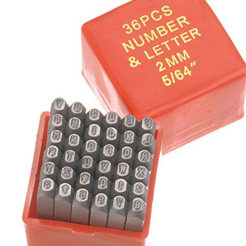 Efco-Perforadora Adornos Letras números 2mm