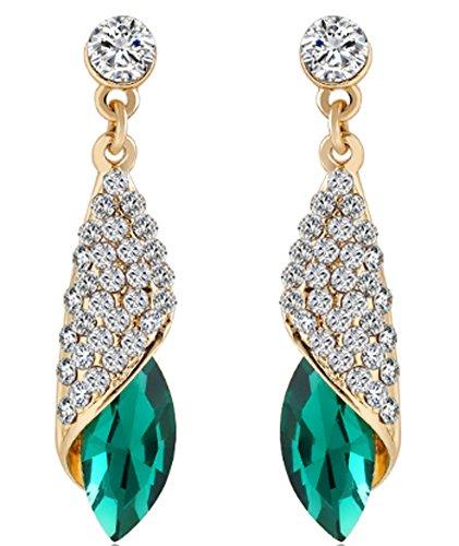 saysure-rhinestone-water-drop-elegant-charm-earring