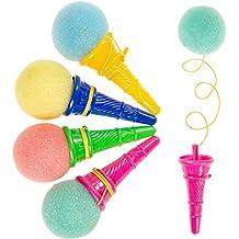 JuniorToys Ice Cream Party-Shooter - Mitgebsel Kindergeburtstag - die lustigen Eiskugel-Abschießer