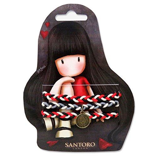Elastiques pour Cheveux Rouge & Noir Collector Santoro Gorju