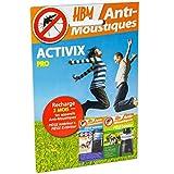 HBM Anti-Moustiques 001-DS-RAC005 Recharge Activix Pro pour les Pièges Extérieur et Intérieur Anti-Moustique...