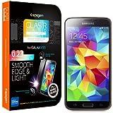 Spigen SGP10727 Oleophobic Coated Tempered Glass Displayschutzfolie f�r Samsung Galaxy S5