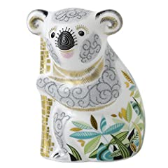 Idea Regalo - Royal Crown Derby Fermacarte, Motivo: Koala