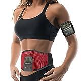 Bauchmuskelgürtel Bauchtrainer Meabelt 400 EMS - Bauchmuskel-Gürtel - Elektrostimulationsgerät – Muskelaufbau & Fettabbau – Body-Shaping Frauen & Männer – 8 Trainingsprogramme, 10 Intensitätsstufen