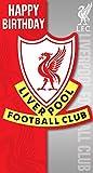 Liverpool FC LP047gestanzt Karte Wappen Geburtstagskarte
